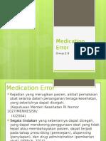 PPT 2B - Medication Error