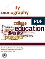 ALIGNED Diversity Bibliography.08.2010