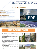 Exposicion Tema Ecotoxicologia