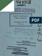 CIA Simple Sabotage Manual