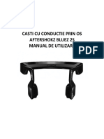 Aftershokz Bluez 2S _manual de Utilizare