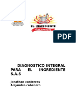 Diagnostico Integral Para El Ingrediente s