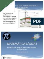 MB1 Ecuacion de La Recta