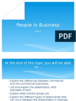 People in Business PowerPoint