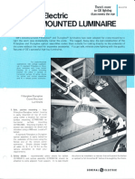 GE Lighting Systems Crane Mounted Luminaire Series Spec Sheet 8-77