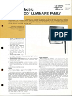 GE Lighting Systems Decaflood Family Series Spec Sheet 3-76