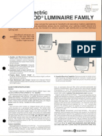 GE Lighting Systems Decaflood Family Series Spec Sheet 8-81
