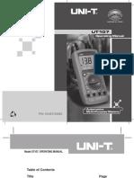 UT107 Manual