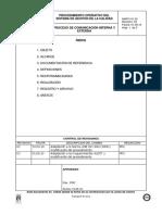 12 Proceso Comunicacion Interna Externa