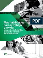 CAF RED 2016 Más Habilidades Para El Trabajo y La Vida