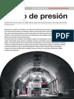Estaciones de Bombeo Para Extracción de Agua en El Tunel San Gotardo