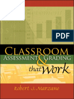 Classroom Assessment & Grading