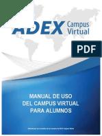 CV ADEX Uso Campus Virtual Alumnos 27ago15