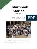 Cedarbrook Stories