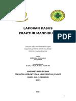Fraktur Mandibula Rifki Lapsus