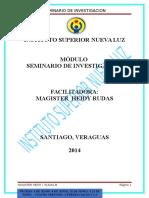 Investigacion Educativa Nueva Luz