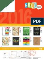 Catalogo GROC 2016 Baja