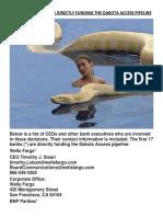 ADDRESS LIST OF BANKS DIRECTLY FUNDING THE DAKOTA ACCESS PIPELINE.pdf
