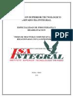 Institucion Superior Tecnologico Privado Isa Integral