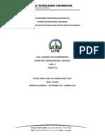 Formato Guía Académica Sed 2014 - 2015 (Administración y Sistemas i)
