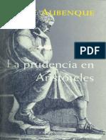 Aubenque Pierre - La Prudencia en Aristóteles.pdf