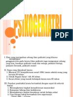 Psikogeriatri Oleh Dr. Siregar