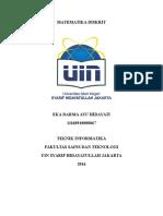 Eka Darma Ayu Hidayati - 11160910000067 (Matdis Tugas Individu Predicate and Quantifier