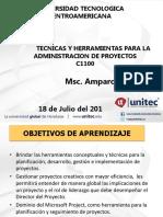 Herramientas y Tecnicas Para La Admon de Proyectos i (1)
