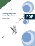 Apostila de Topicos Em Famacologia Clinica Prof.luís