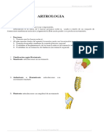 Generalidades Artrologia