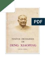 Deng Xiaoping Textos Escogidos 1975-1982