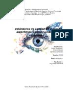 Estándares de Calidad en El Diseño de Algoritmos Y Construcción de Programas