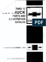 Chevy 1972-82 Luv Series 1-12 Master Parts