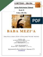 32b - Baba Metziah - 28b-58a