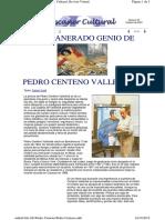 El Amanerado Genio de Pedro Centeno Vallenilla