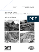 2011 Slope Maintenance and Slide Restoration NHI FHWA 5 LVR Slope Stabilization Ocr