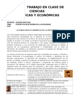 ALGUNAS+IDEAS+ECONÓMICAS+DE+LA+ANTIGÜEDAD