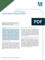 Water for GC-MS Analysis of Volatile Organics