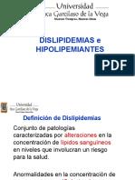 4 Dislipidemias hipolipemiantes