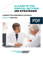 Alzheimers Australia Numbered Publication 40
