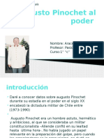 Augusto Pinochet Al Poder