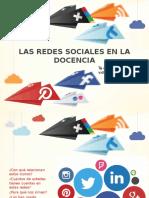 Las Redes Sociales en La Docencia