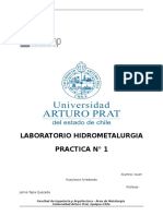 LABORATORIO HIDROMETALURGIA