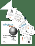 Rob Gibson - Curriculum Vitae