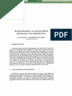 Lectura 2 Dworkin, Creación Judicial