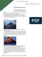 10 Letusan Gunung Paling Mengerikan Sedunia