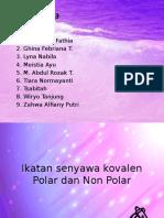 Ikatan Senyawa Kovalen Polar Dan Non Polar