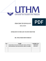 Asyikin- Separation of Hexane-Toluene Mixture
