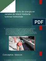 Aprovechamiento de Energía en Canales de Relave Mediante