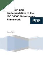 ISO 38500 Governance